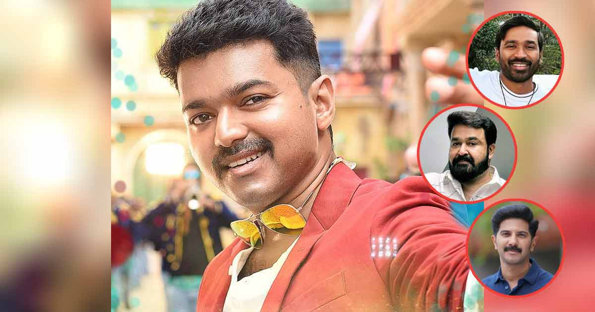 Thalapathy Vijay's Birthday: Friends, Colleagues Wish Superstar