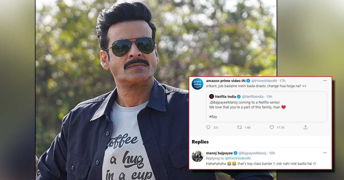 The Family Man Manoj Bajpayee Welcomed By Netflix & Amazon Prime Is Acting Like A Jealous Partner, Check Out