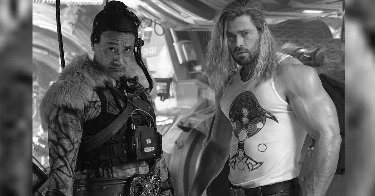 """Love And Thunder Star Chris Hemsworth Announces Wrap With His Massive Bulging Biceps; Says, """"The Film Is Gonna Be Batsh*t Crazy"""""""