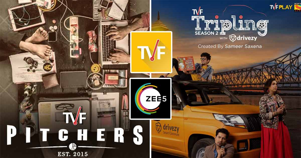 Pitchers Season 2, Season 3 Triple and More NDF shows will air on Zee5 now after mega collaboration