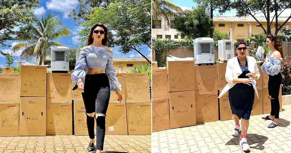 """Urvashi Rautela: """"… No one loses their life due to lack of oxygen"""""""