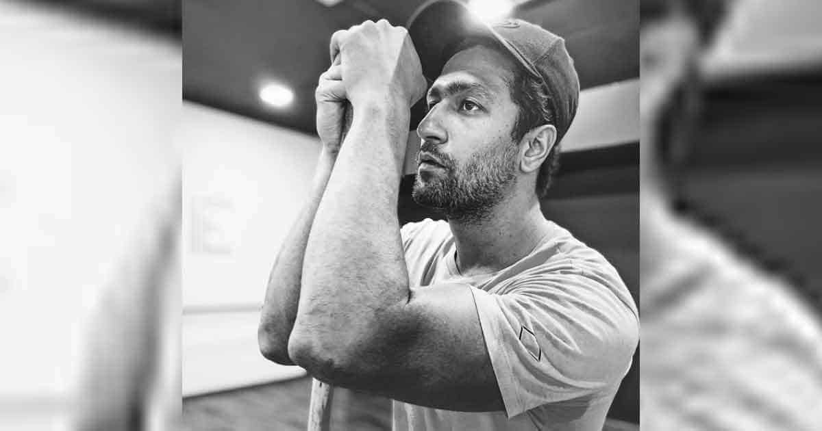 Vicky Kaushal Sprinkles Monochrome Magic With Gym Picture