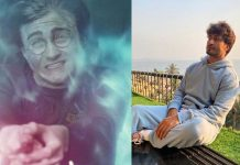 Vidyut Jammwal channels his inner 'Harry Potter'