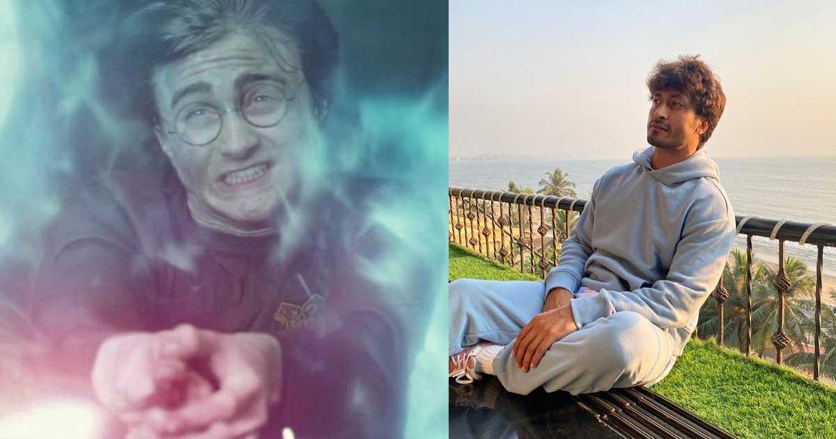 Vidyut Jammwal fulfills his Harry Potter fantasy in a strange Boomerang