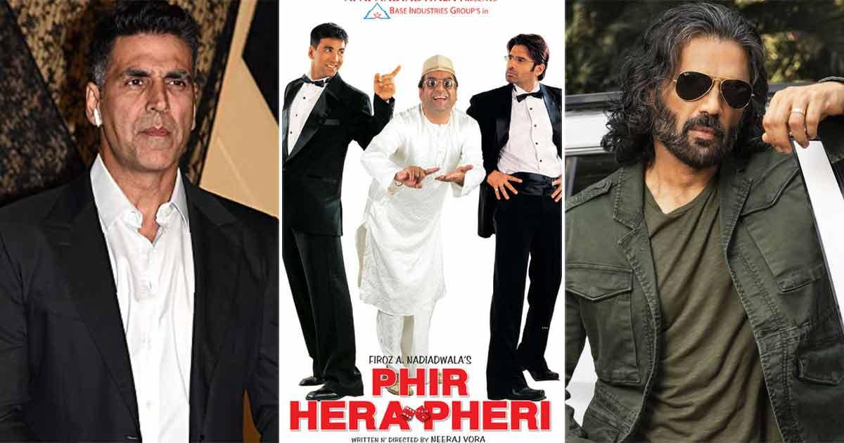 Suniel Shetty Really Upset With Akshay Kumar For Cutting His Scenes From Phir Hera Pheri