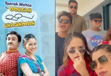 Watch Sunayana Fozdar & Taarak Mehta Ka Ooltah Chashmah Team's Viral Video