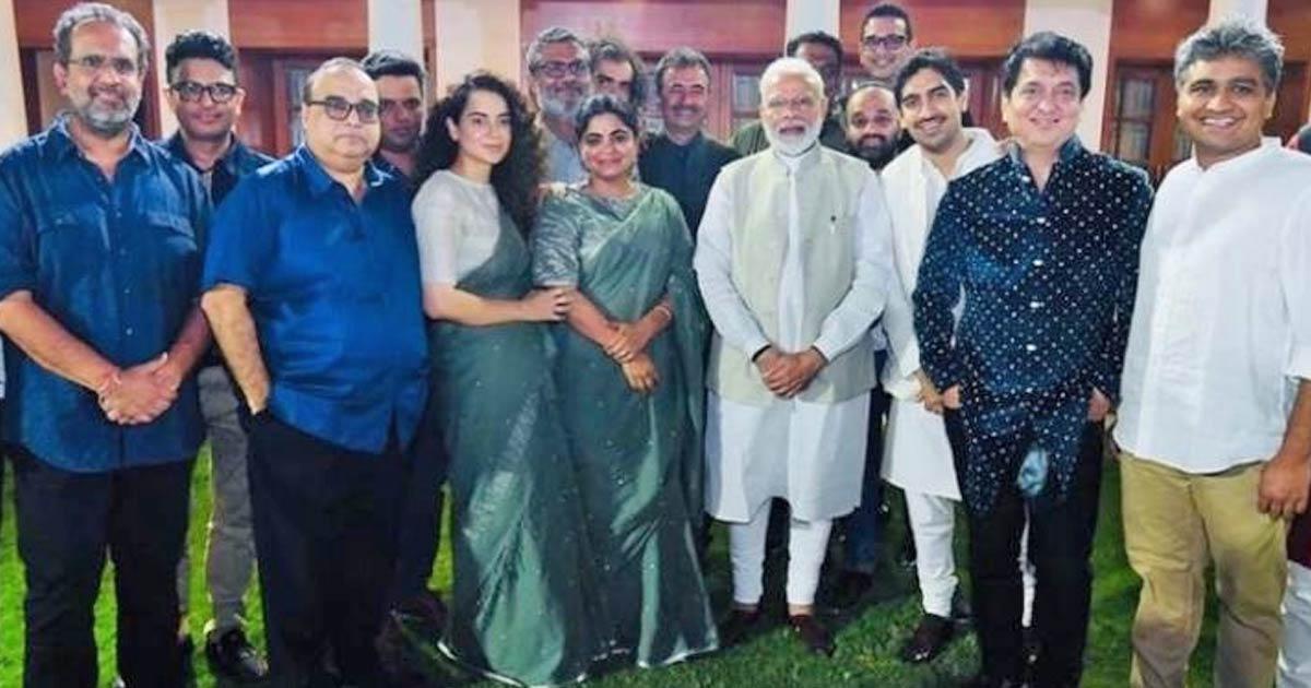 When Kangana Ranaut & Ashwini Iyer Tiwari Were Teased For 'Accidentally' Wearing The Same Saree To Meet PM Modi