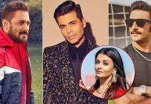 When Karan Johar Made Salman Khan Awkward On Aishwarya Rai Joke