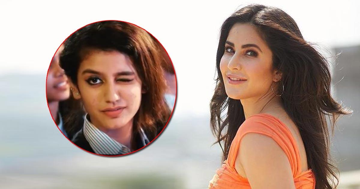 When Katrina Kaif Was Trolled & Called 'Expressionless' After Priya Prakash Varrier's Wink Video Broke The Internet