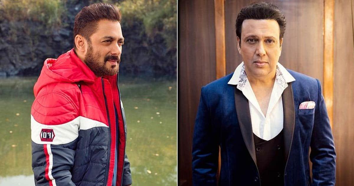 When Salman Khan Revealed How Govinda's Humble Gesture Rather Made Him Feel