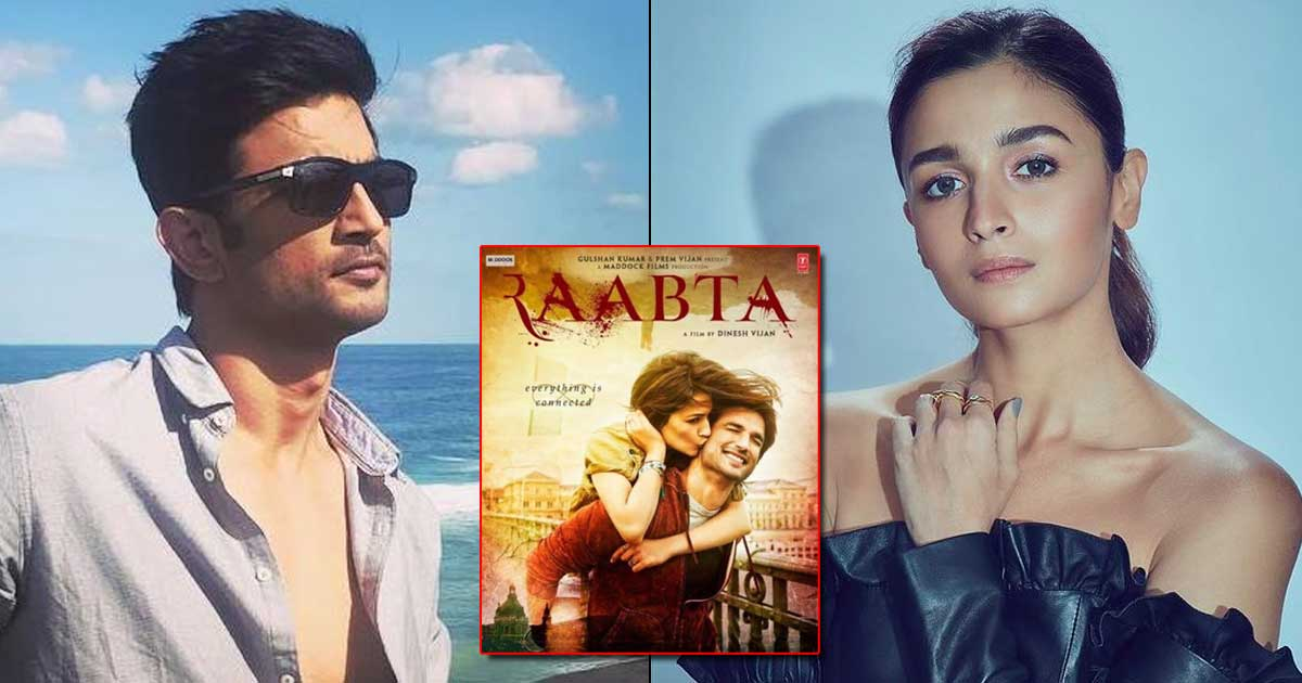 When Sushant Singh Rajput Was Upset With Alia Bhatt For Walking Out Of Raabta