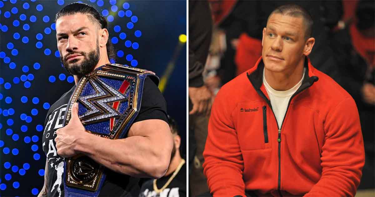 WWE Is Making Roman Reigns Larger Than Life & Match With John Cena Is A Part Of It?