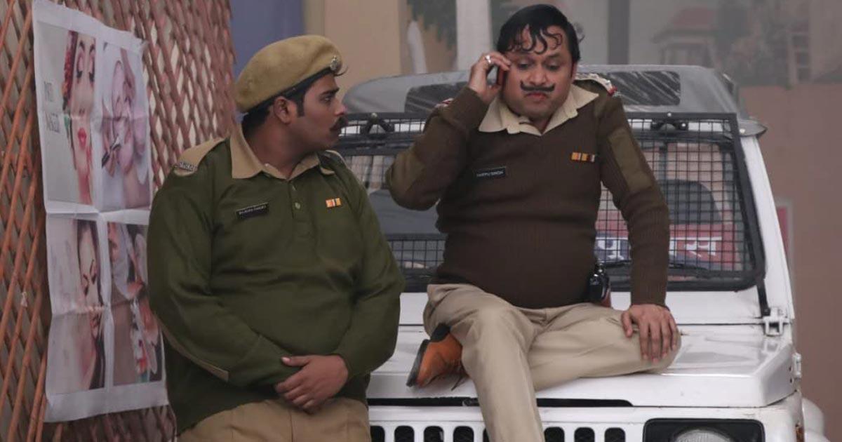 Yogesh Tripathi As Inspector Happu Singh In BGPH