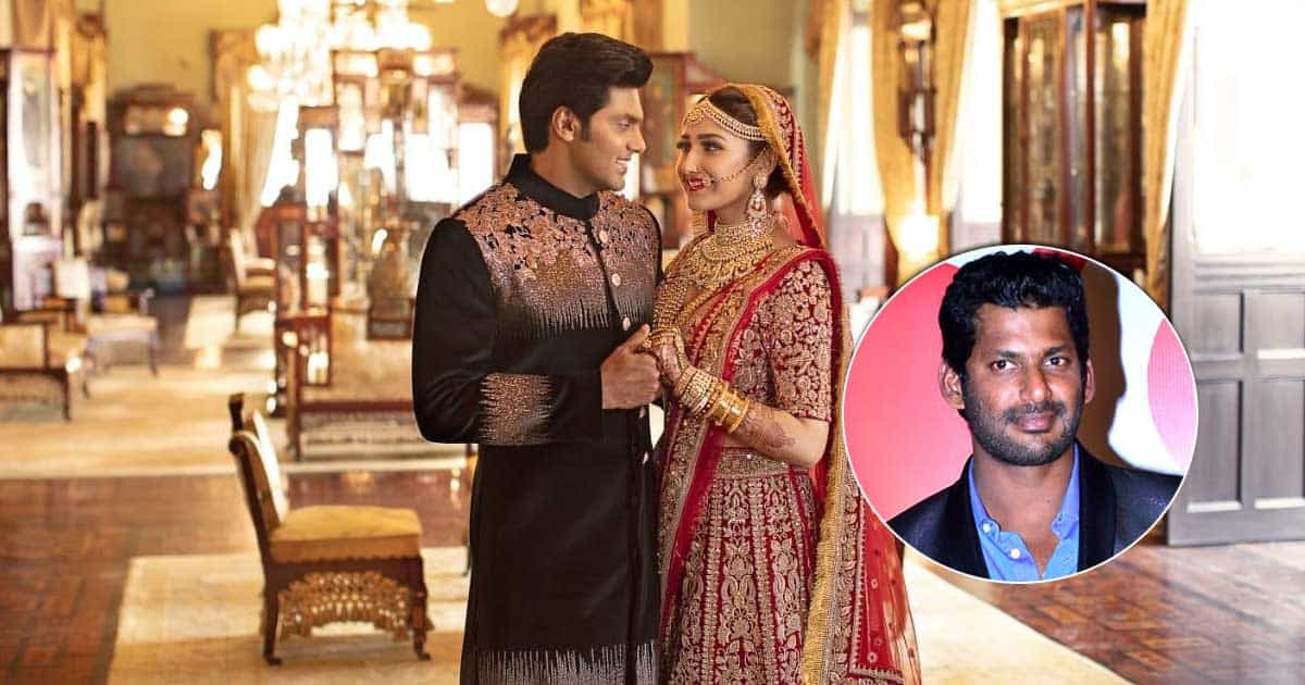 Late Dilip Kumar's Grandniece Sayyeshaa Saigal & Arya Welcome Their First Child, Actor Vishal Shares The Good News