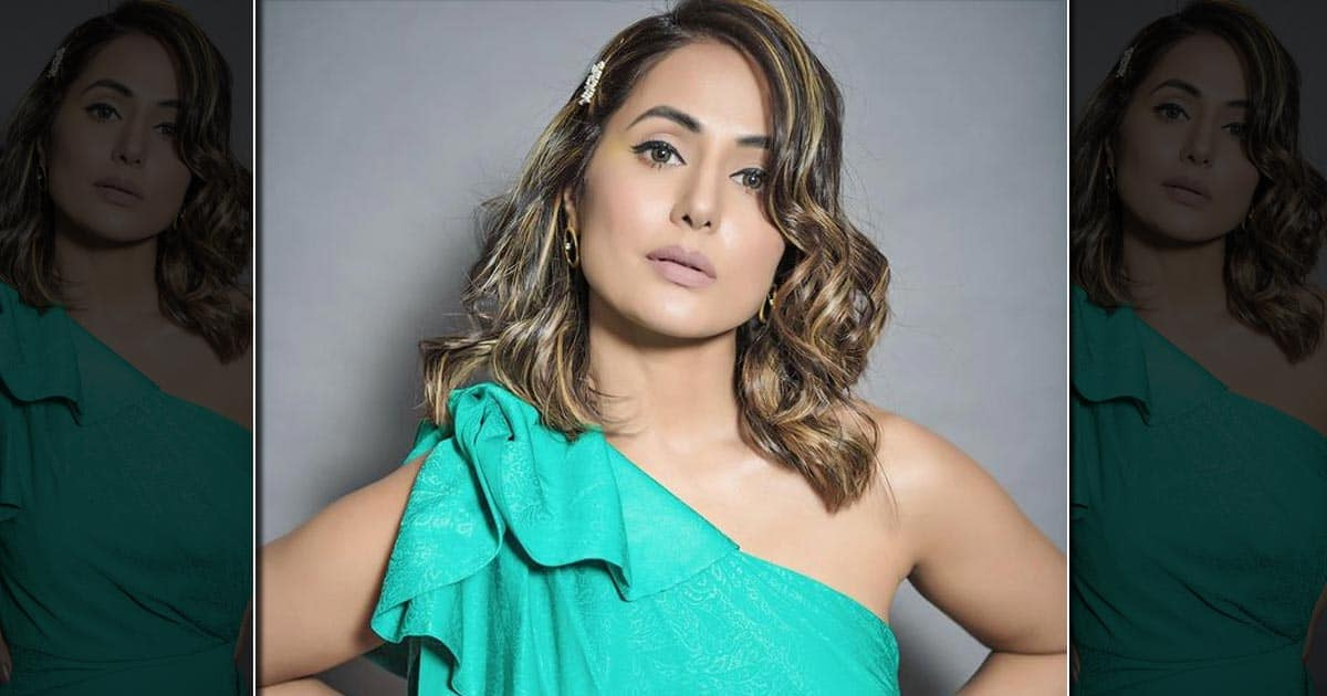 Hina Khan becomes a producer with her film lines!  Voot's release is scheduled for release