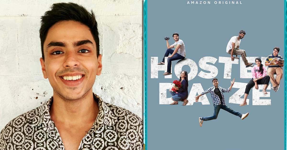 Adarsh Gourav on 'Hostel Daze 2' role: I am very different from Ankit