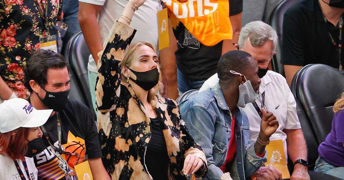 Adele & Rich Paul Spark Romance Rumours After Pair Pictured Together At NBA Finals