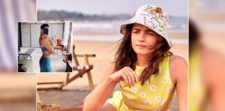 Alia flaunts svelte figure as she takes part in fitness challenge