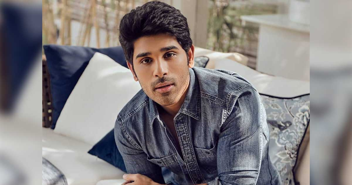Allu Sirish Looks Dapper As He Gets Ready To Wait For The World To Open
