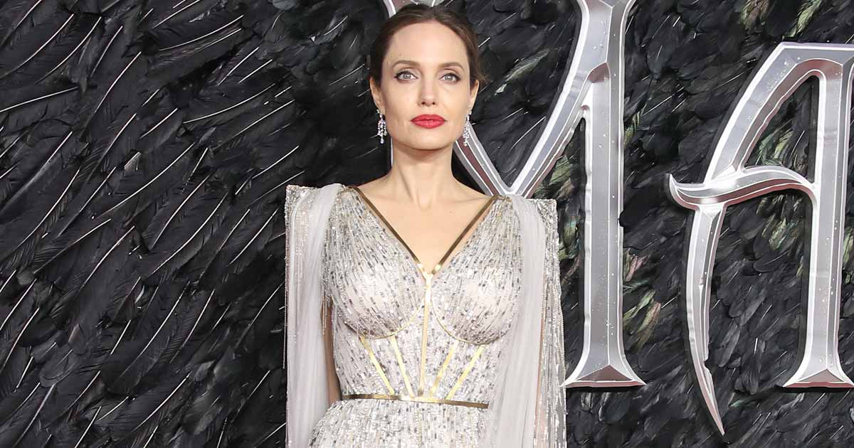 Angelina Jolie Makes A Stunning Entry In Venice In A Glittery Dress, Reportedly Gets A Hotel Room Worth 6 Lacs/Night, Read On