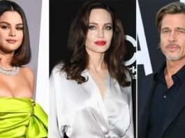 Angelina Jolie Once Found Photos of Selena Gomez On Brad Pitt's Phone That Led To A 'Blowout Fight'