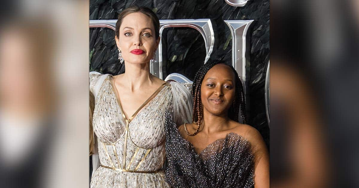 Angelina Jolie Spotted On A Shopping Date With Daughter Zahara