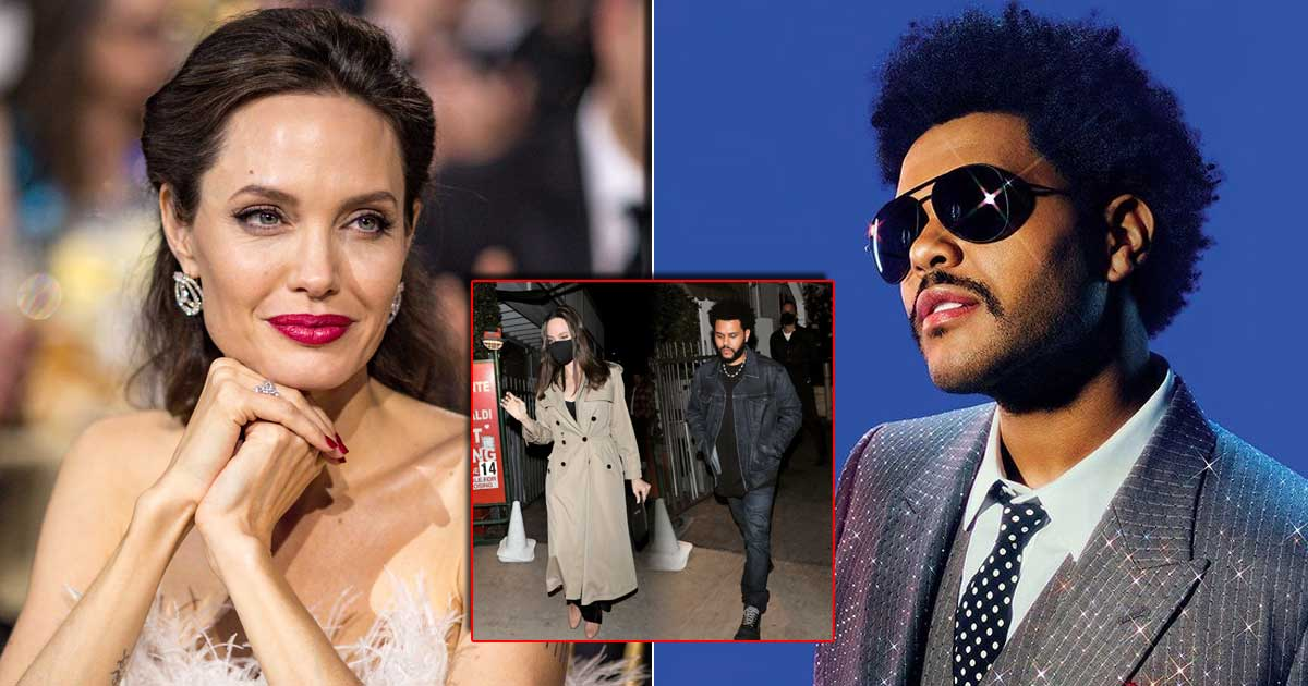Angelina Jolie & The Weeknd Spark Dating Rumours With Dinner Date!