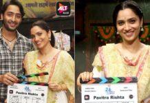 Ankita Lokhande begins shooting for 'Pavitra Rishta'