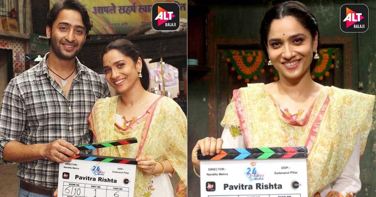 Pavitra Rishta: Ankita Lokhande Shares First Glimpse With Shaheer Sheikh As Archana & Manav!