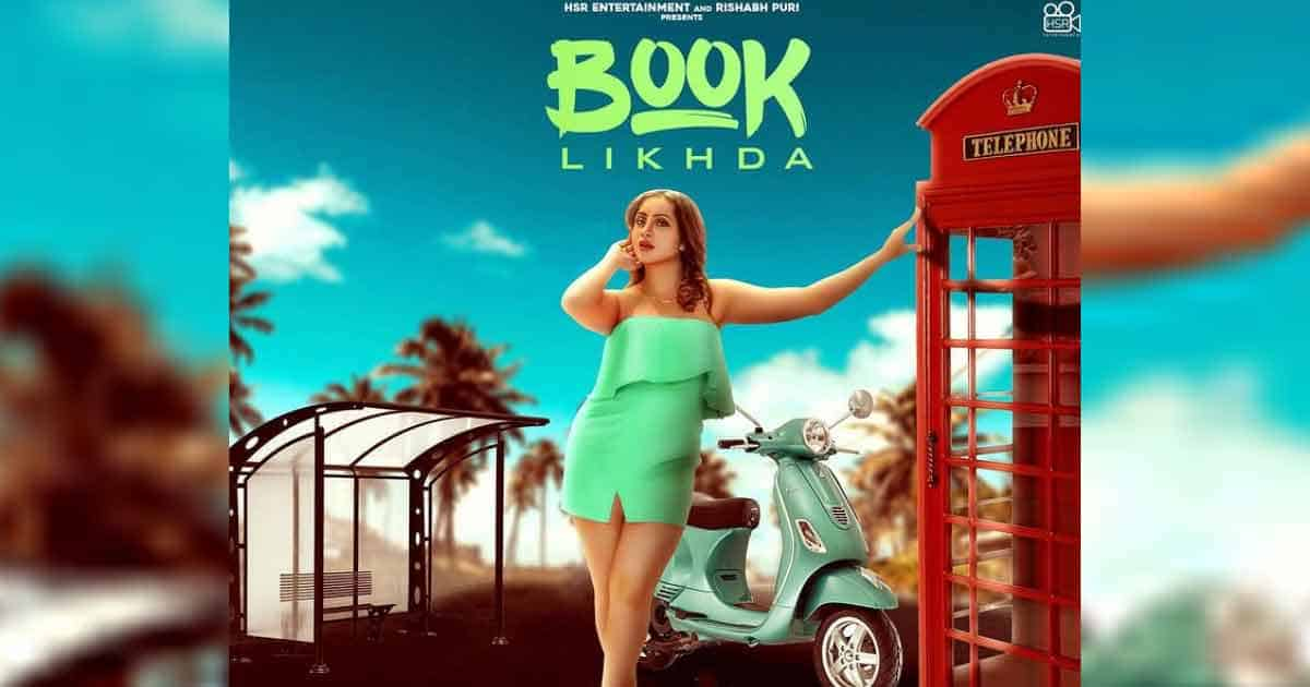 """Arshi Khan has shared the first look of his next song """"Likhda Book"""""""