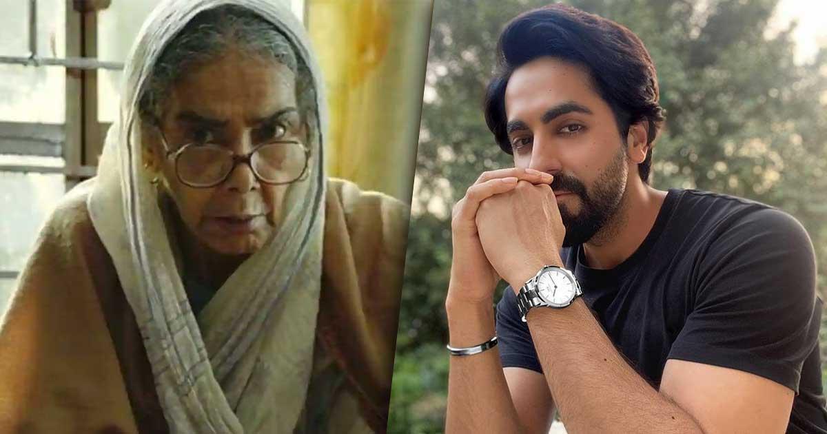 Ayushmann Khurrana pays tribute to 'Badhaai Ho' co-actor Surekha Sikri
