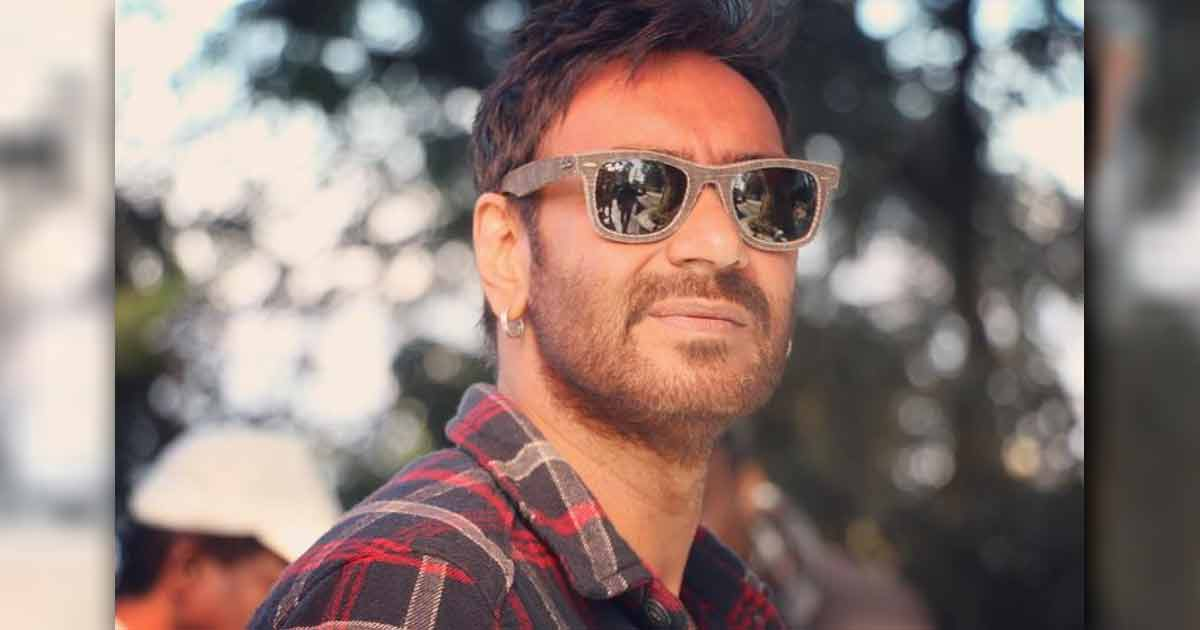 Ajay Devgn's Goes Salt & Pepper Look