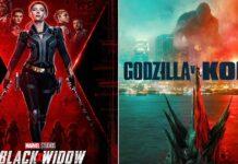 Black Widow Beats Godzilla vs Kong At The Domestic Box Office