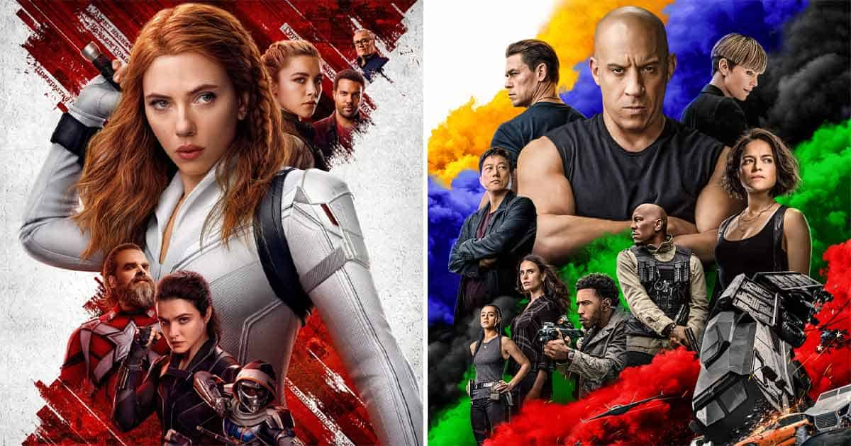 Black Widow Box Office Previews Collection