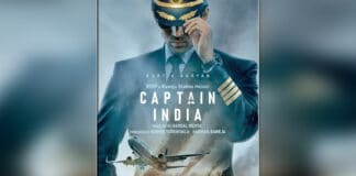 Captain India Announcement Poster On How's The Hype