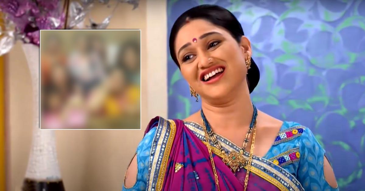 Check Out This Throwback Picture Of Disha Vakani With Mahila Mandal Of Taarak Mehta Ka Ooltah Chashmah