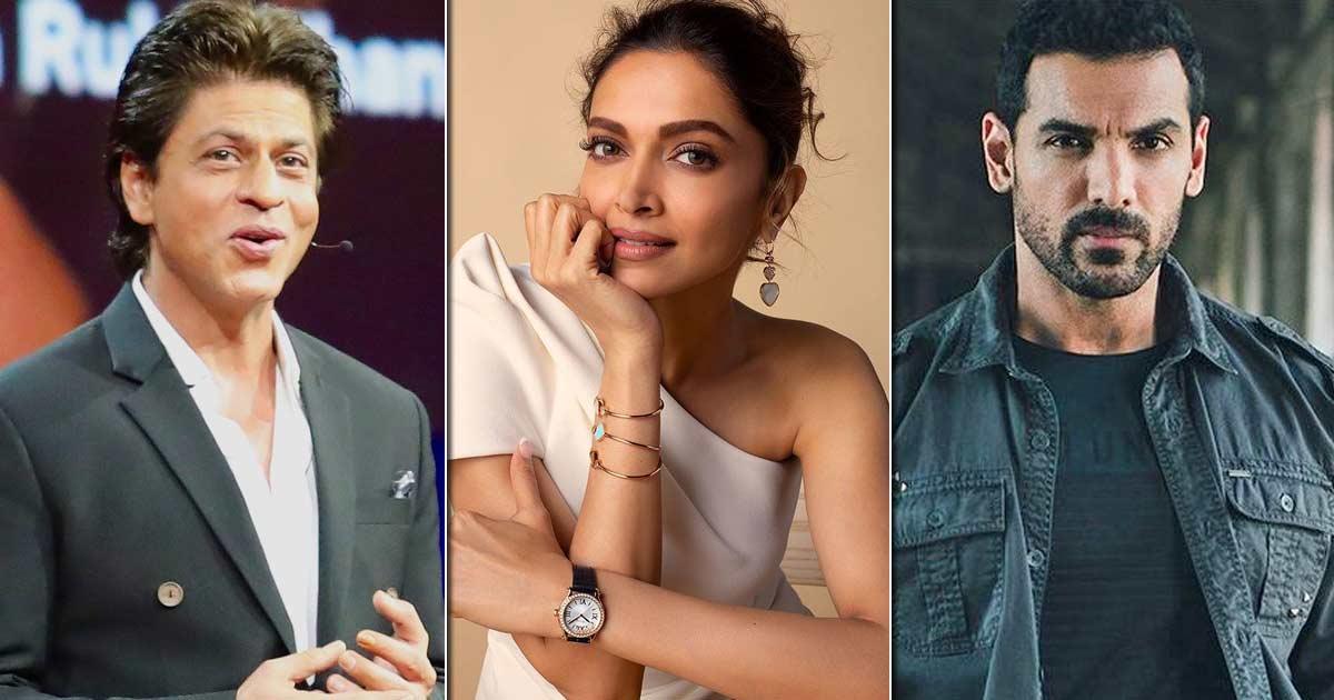 Shah Rukh Khan & John Abraham Meet Deepika Padukone For Pathan's Shoot, Read On
