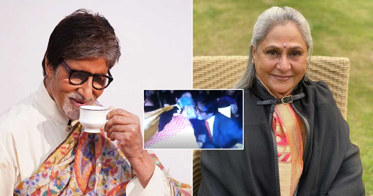 "Amitabh Bachchan's ""Kiss Of Love"" PDA with his wife Jaya once embarrassed Abhish Bachchan"