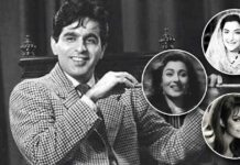 Dilip Kumar's leading ladies