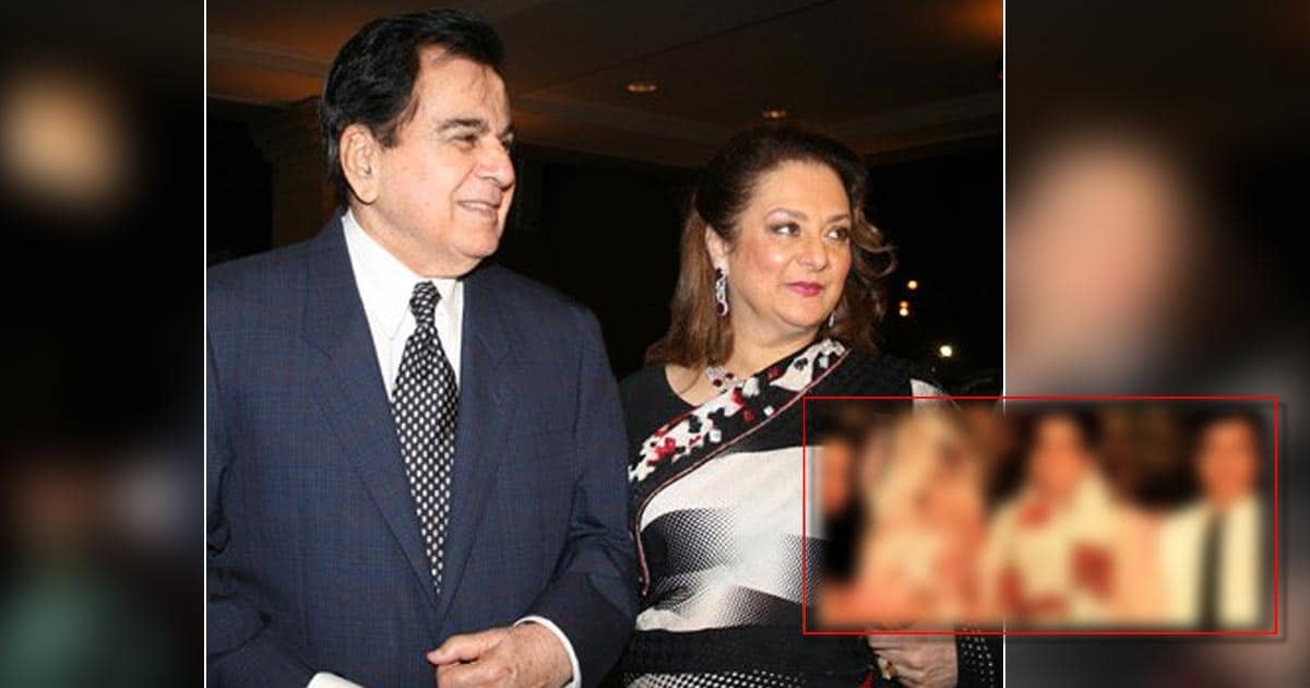 Dilip Kumar's Picture With Saira Banu From Their Wedding Is Melting Hearts; Dev Anand Makes A Special Appearance Too - Check Out