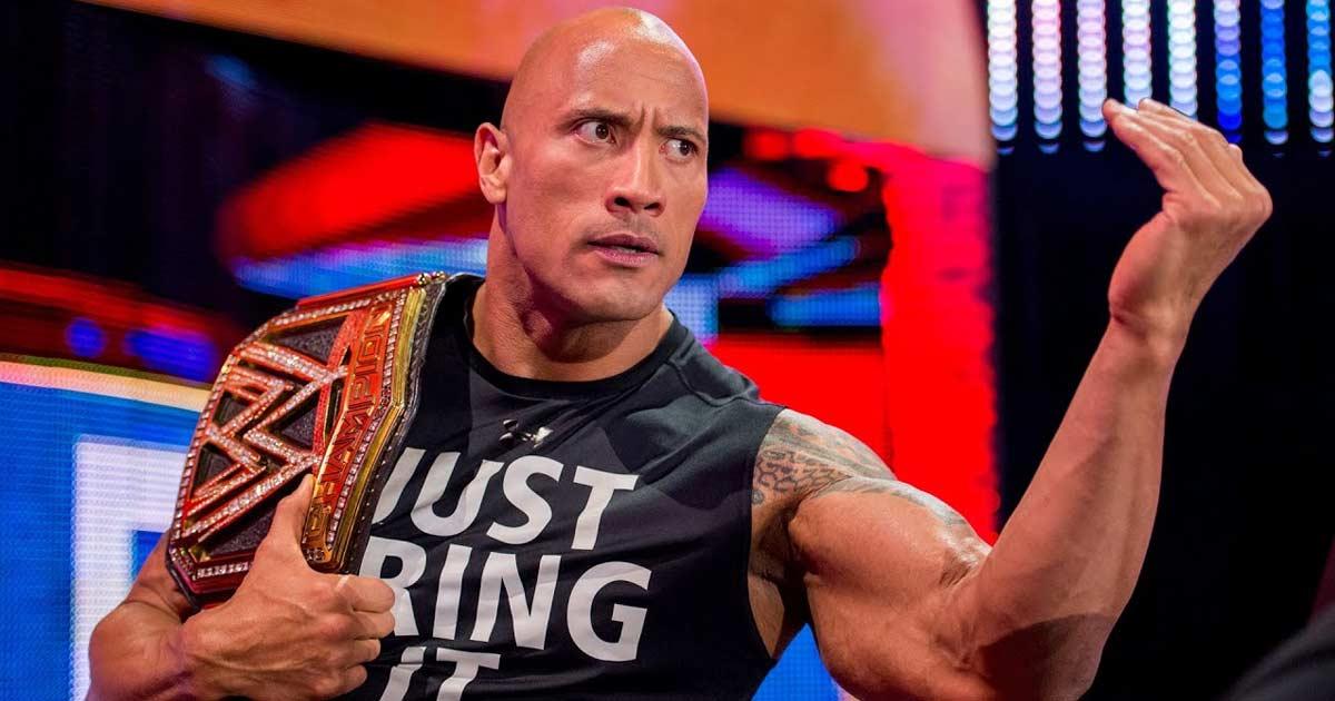 Dwayne Johnson aka The Rock Shares An Update On His WWE Return