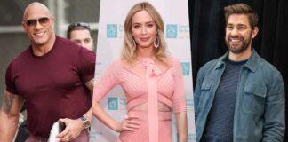 Emily Blunt Reveals John Krasinski's Reaction On Her On-screen Kiss With Dwayne Johnson