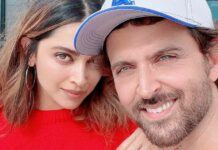 Fighter duo, Hrithik Roshan and Deepika Padukone are 'ready for take off'!