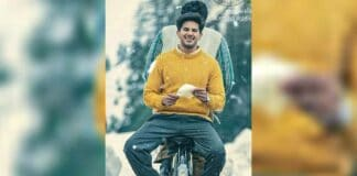 First look of Dulquer Salmaan's new Telugu film unveiled