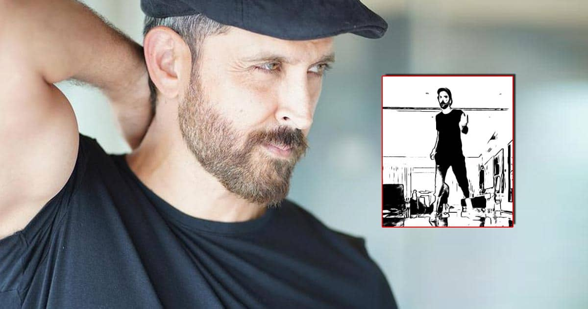 Hrithik Roshan Shares A Dance Video With Amazing Foot Work - Read On