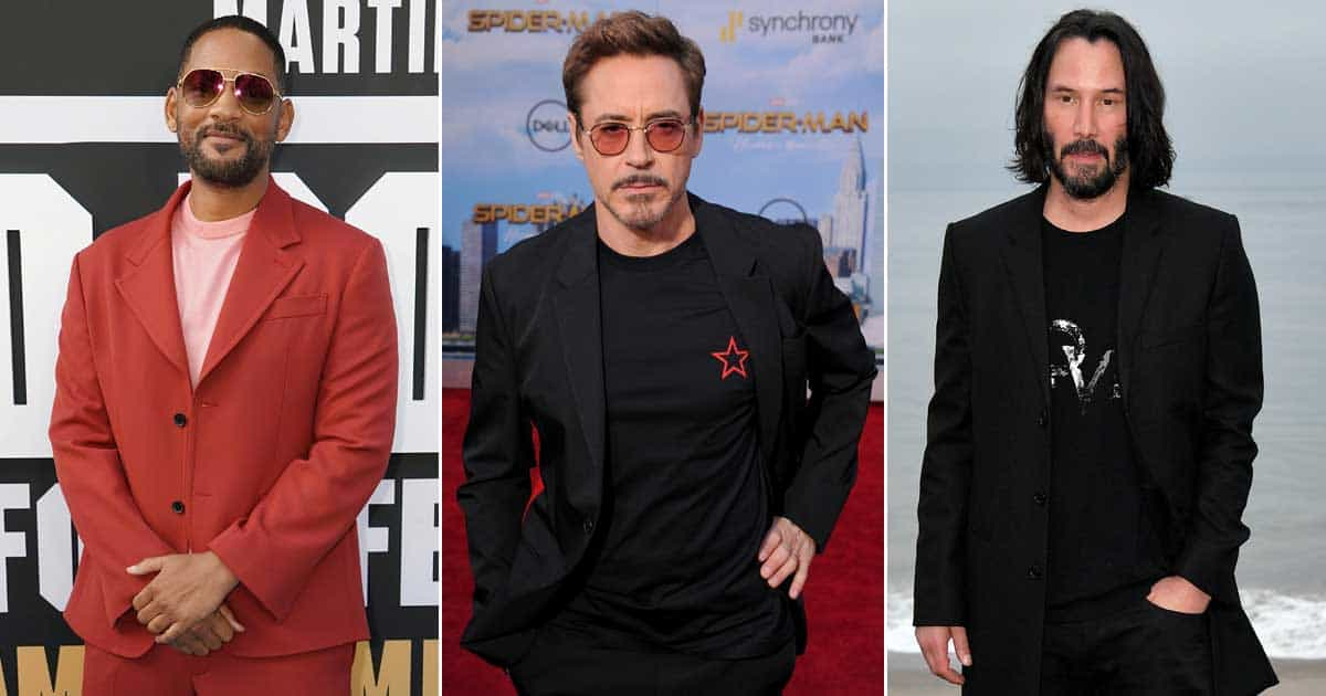 From Robert Downey Jr To Will Smith, Take A Look At Hollywood's Highest Paying Deals