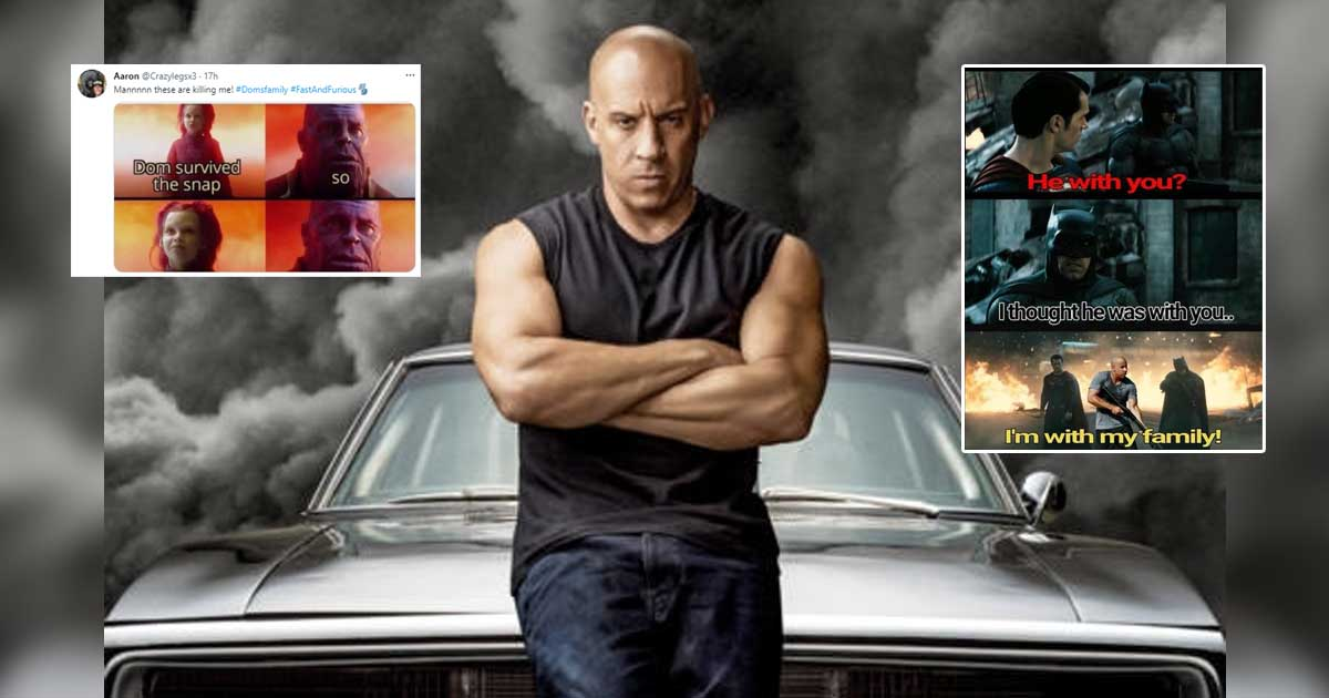 From Thanos To Godzilla, The Volturi & Megatron - Vin Diesel Family Memes Is Taking Over The Internet