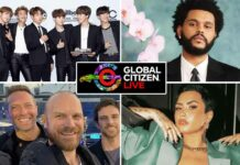 Global Citizen Live: BTS, The Weeknd, Coldplay, Demi Lovato & Many More To Perform At The 24 Hour Event