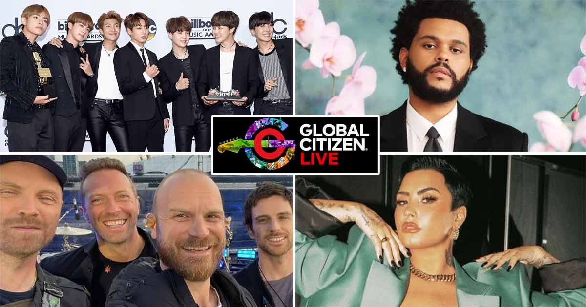 Global Citizen Live: BTS, The Weeknd, Coldplay, Demi Lovato & Many More To Perform At The Global Event