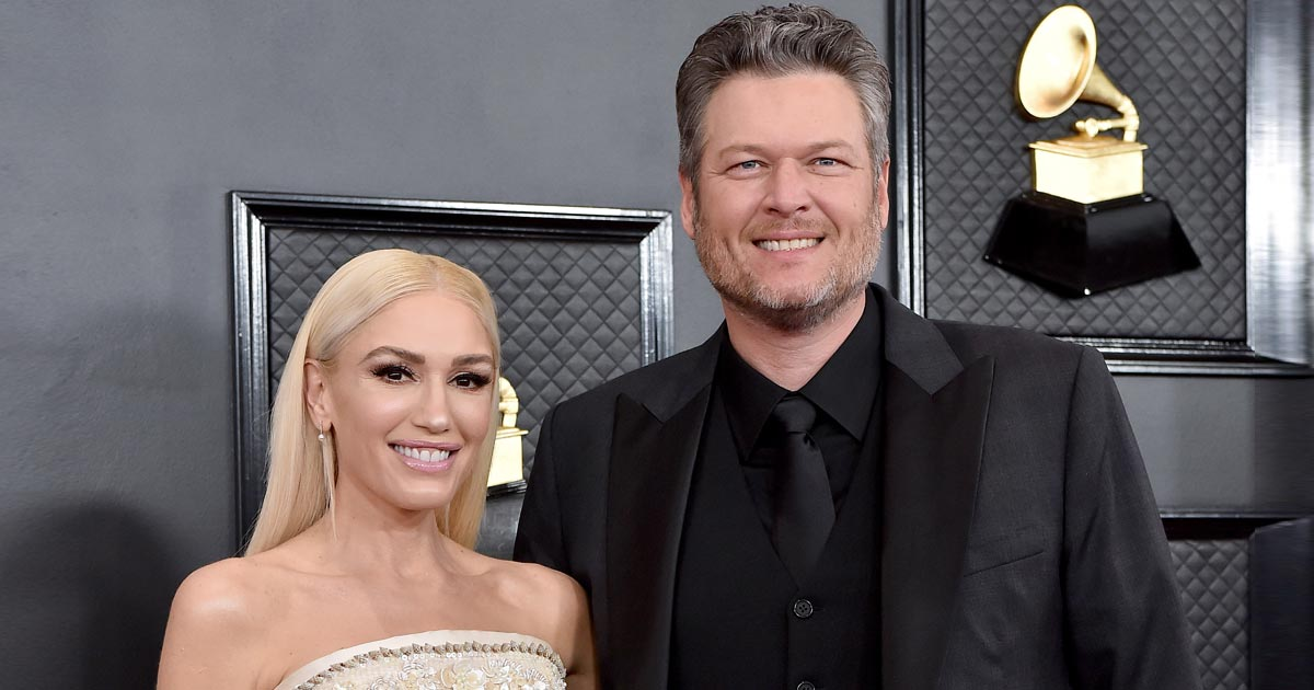 Gwen Stefani & Blake Shelton Are Married Now!